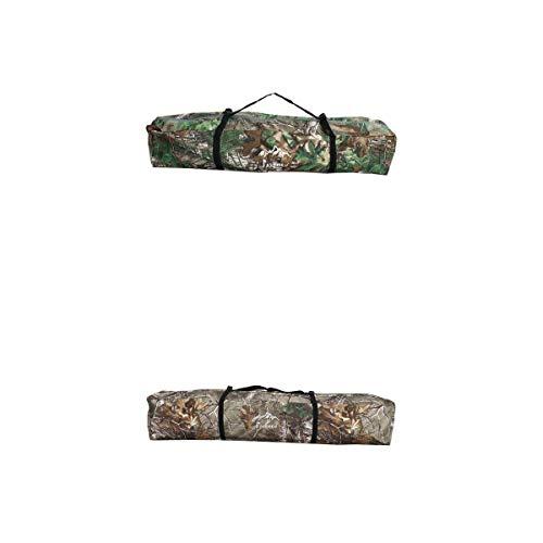 lahomia 2 peças multiuso, bolsa de armazenamento para barraca de acampamento, bolsa de acampamento