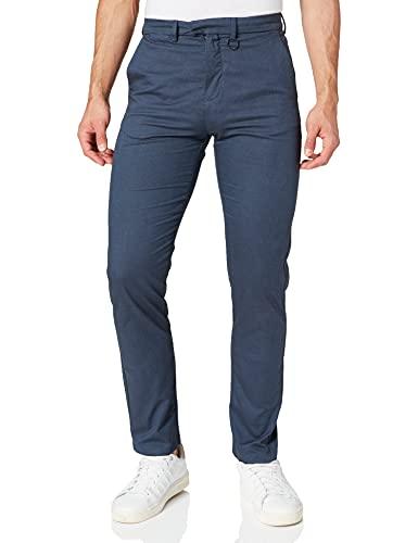Springfield Pantalón Chino, Azul Oscuro, 42