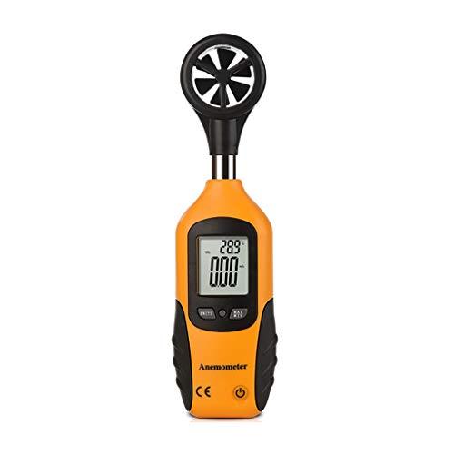 Zcyg Anemometer Wind Speed Meter Digitale Luftgeschwindigkeitsmessung for Meteorologie, Surfen, Angeln, Drachensteigen und Bergsteigen
