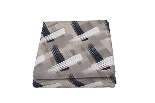 Italian Bed Linen Fantasy Pennellate Telo Copritutto Stampato 1 Posto, Microfibra