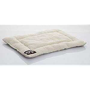 2PET Crate Pad Comfy Cushion Ultra Soft Breathable Puppy Bed Crate Mat – Safe Bed for Dogs, Cats – Lightweight Nap Pad for Dog Kennels and Pet Carriers – Select Size
