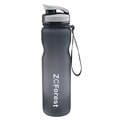 ZCForest Sports Outdoors Tritan Water Bottles