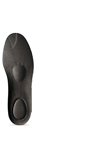 BERGAL 3D X-Treme - extrem dämpfend, Extreme formstabil, Extreme leicht (Gr. 36-48) + Rema Einlagenbeutel (48, Schwarz)