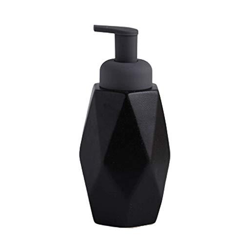 YHYH dispensador de jabón Cerámica dispensador de jabón, loción encimera, Bomba de líquido de baños 12,1/13,5/14,8 oz Ducha dispensador de baño del Hotel casa, jabonera Regalo de Cocina