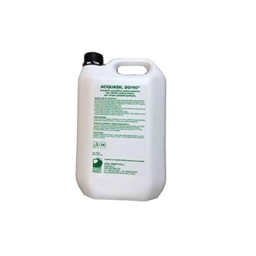 Acquasil 20 40 Antincrostante Ed Anticorrosivo Flacone Da 5 Kg Liquido