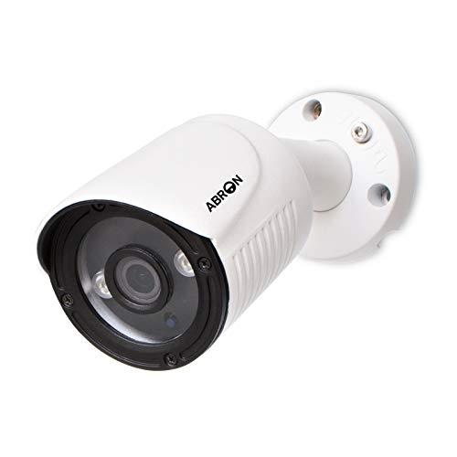 Abronis 5MP AHD Bullet Camera, Telecamera di sicurezza cablata per DVR AHD/TVI/CVI da 5MP e DVR 960H, Rilevamento movimento, Telecamera CCTV domestica impermeabile per interno ed esterno giorno/notte