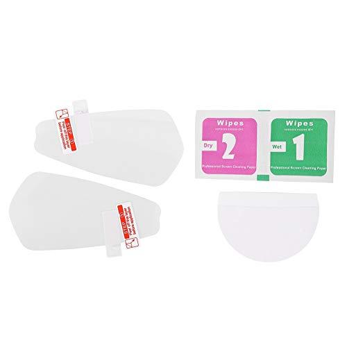 Bediffer Anti-Fog-Folie Praktische Schutzfolie Praktischer Spiegelaufkleber für Komfortables Fahren im Urlaub