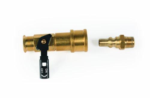 Camco 59853 Propane Quick Connect Kit – Valve & Passage intégral Plug