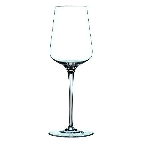 Spiegelau & Nachtmann, 4-teiliges Weißweingläser-Set, Kristallglas, 380 ml, ViNova, 0098074-0