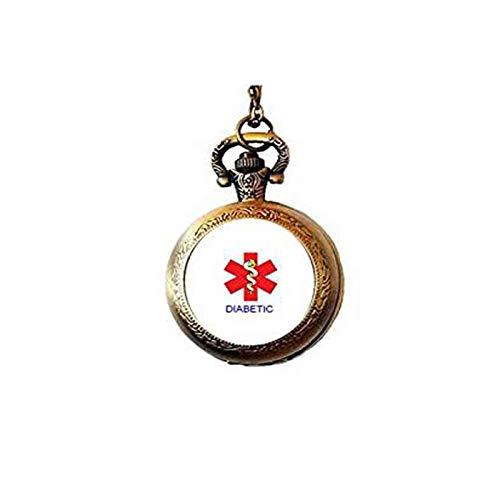 aaaAA Diabetiker-Anhänger, Diabetikerkette, Medizinischer Alarm, Diabetiker-Schmuck
