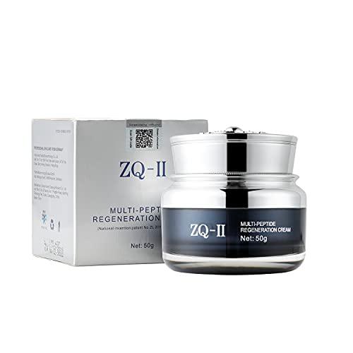 ZQ-II Multi-Peptide Regeneration Cream, Anti-Aging Facial Moisturizer...