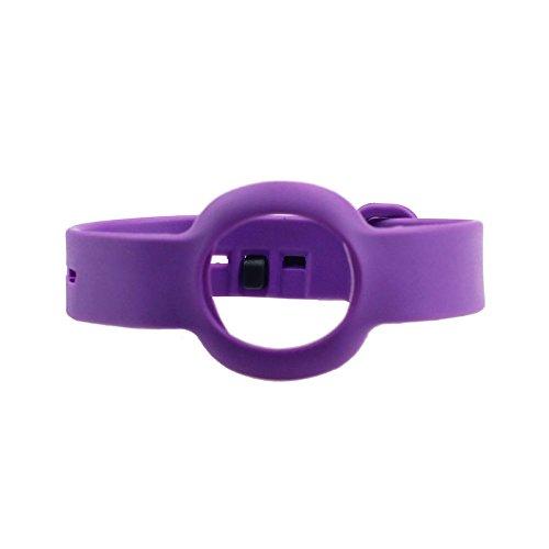 AWINNER Replacement Small TPU Wrist Band for Jawbone UP Move Bracelet Smart Wristband (Purple)