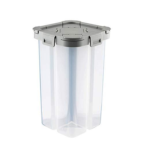 KANULAN Botes Cristal Cocina Cereales Recipientes de plástico de Gran Capacidad for...