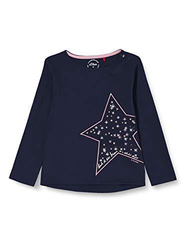 s.Oliver Junior Baby-Mädchen 405.10.011.12.130.2054649 T-Shirt, 5952, 86