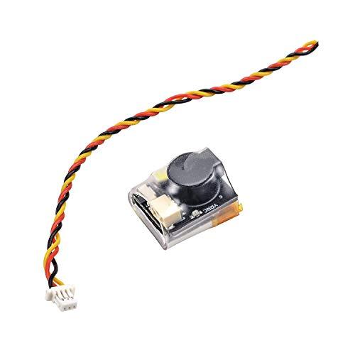 ICQUANZX RC Signalverlust Summer Tracker LED Licht Finder 110dB Beep Summer Alarm Alarm mit Batterie verloren Drohnen Alarm 110dB Tracker Working , für BF & CF Flight Controller RC Drone