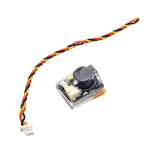 ICQUANZX RC Signal Loss Buzzer Tracker LED Light Finder 110dB Beep Buzzer Alarm,with Battery Lost Drone Alarm 110dB Tracker Working, for BF & CF Flight Controller RC Drone