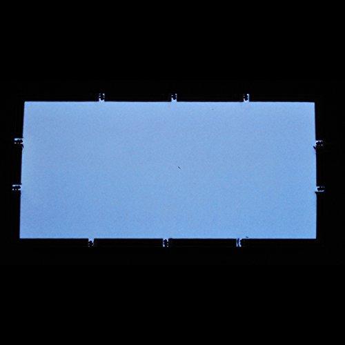 EL-Folie/Leuchtfolie/Plasmafolie Farbe: WEISS Größe: 200x100mm inkl. Zubehör