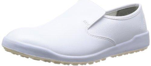 [ミドリ安全] 作業靴 耐滑 スリッポン ハイグリップ H100 C メンズ ホワイト 24.5 cm 3E