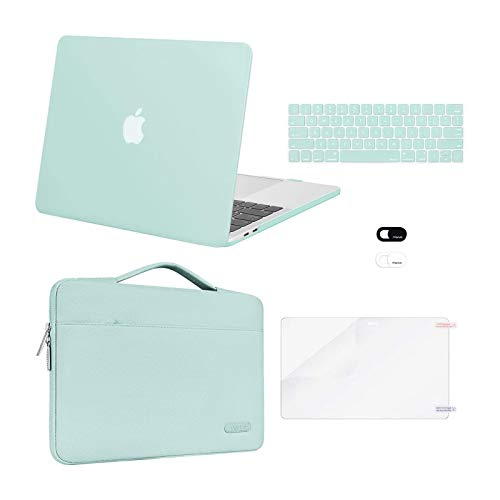 MOSISO Compatible with MacBook Pro 13 inch Case 2016-2020 Release A2338 M1 A2289 A2251 A2159 A1989 A1706 A1708, Plastic Hard Shell Case&Bag&Keyboard...