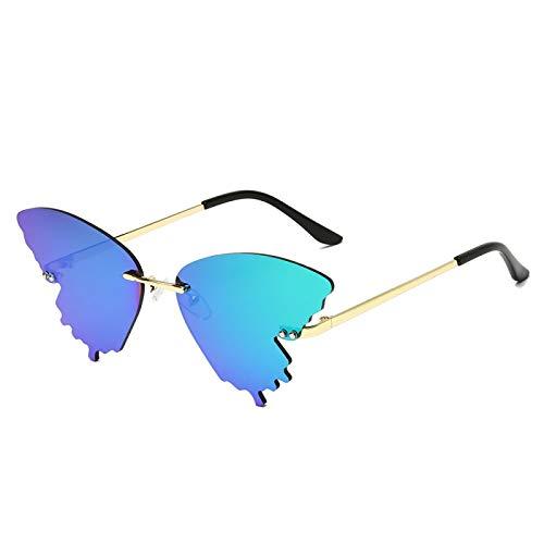 Único Gafas de Sol Sunglasses Personalidad Mariposa Gafas De Sol Hombres Mujeres Tonos De Moda De Lujo Uv400 Gafas Vinta