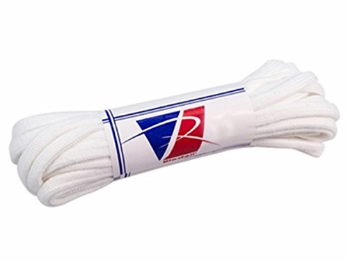 Riedell White Textured Polyester Laces (120