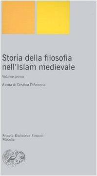 Storia della filosofia nell'Islam medievale: 1