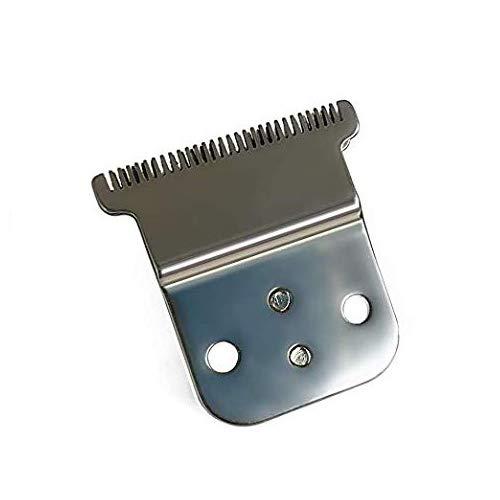 Pro Li trimmer vervangende T-mes set # 32105 - D7# 32655 D8# 32400 Keramisch mes - Koolstofstalen mes set-Compatibel met D8 SlimLine Pro Li Andis tondeuse trimmer (zilver)