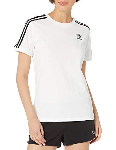 adidas Originals,womens,3-Stripes Tee,White,X-Large