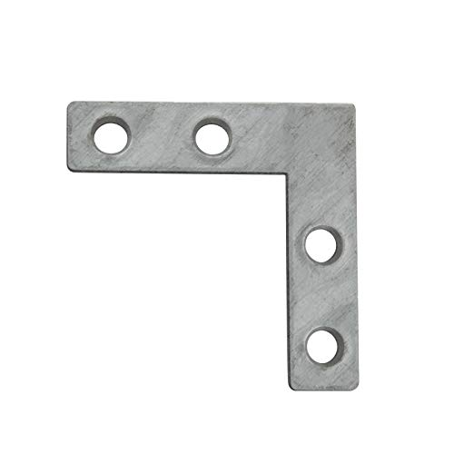 Winkelverbinder 40x40x10x1.5 mm Lochplattenwinkel Metallwinkel Rispenband Lochwinkel