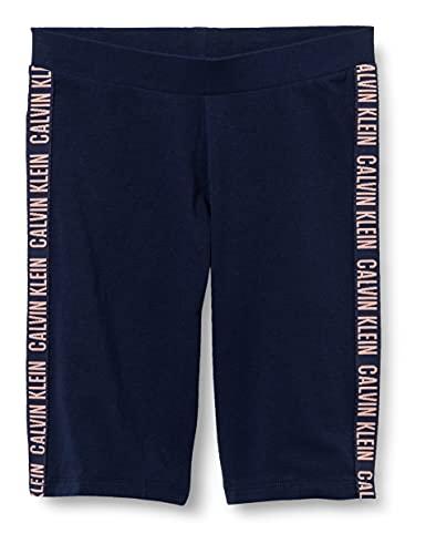 Calvin Klein Legging Pantalón de Pijama, Navy Iris, 12-14 Jahre para Niñas