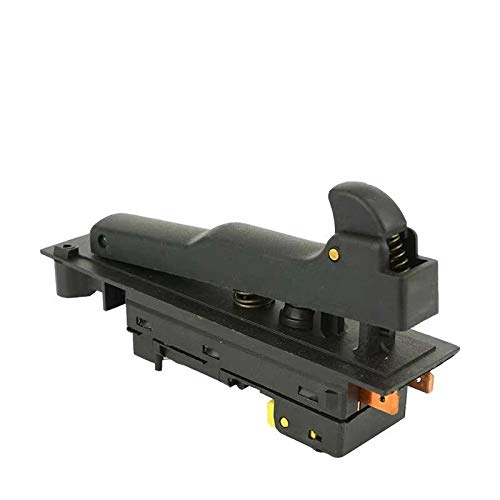 MQEIANG Reemplazo del Interruptor para Makita 180 230 GA9030 GA9020 GA7030 GA7020 9069 9067 9059 9049 9047 9016b 9015b g18se3 Ángulo de ángulo (Color : 4 Pins)