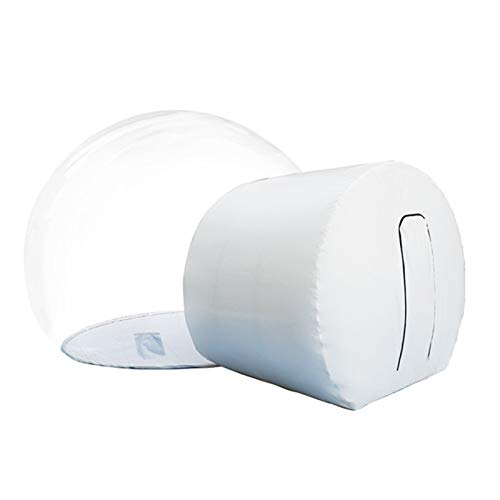 Casa Inflable De La Tienda De La Burbuja con El Ventilador Libre...