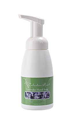 Celadon Road Lemongrass Foaming Hand Soap - Organic Ingredients and Essential Oils - Sulfate and Paraben Free - Best All Natural Soap - 7oz