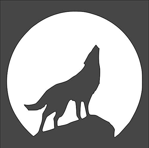 1- 10x10 inch Custom Cut Stencil and TG-33 Wolf Arts depot Crafts S Sales results No. 1
