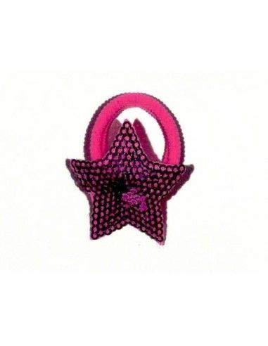 Inca Caoutchouc étoile à paillettes