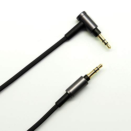 FAAEAL Replacement Headphone Audio Cable Compatible with Sony MDR-XB950BT MDR-1000X WH-1000XM2 WH-1000XM3 WH-900 WH-CH700N MDR-100ABN MDR-1A MDR-1AM2 MDR-1ADAC MDR-XB950N1 Wireless Headphones (Black)