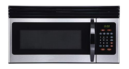 Black+Decker 1.6-Cu.Ft Over-the-Range Microwave - Stainless Steel (EM044KIN-P)