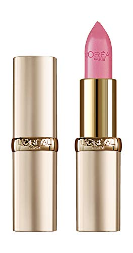 L'Oréal Paris Pflegender Lippenstift mit Satin Finish, Argan-Öl und Vitamin E, Color Riche, Nr. 303 Rose Tendre, 1 x 4,3 g