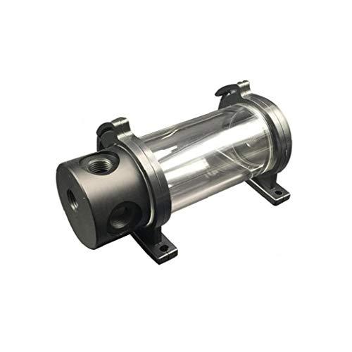 PiniceCore Cilindro Acrílico Depósito De Agua para Pc De Enfriamiento Líquido Kit De Refrigeración por Agua para La CPU del Ordenador