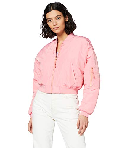 Pepe Jeans Irina Giacca, Rosa (334chewing Gum 334), X-Large Donna