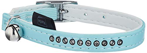 Karlie Katzenhalsband Monte Carlo L: 30 cm B: 11 mm XS azul claro