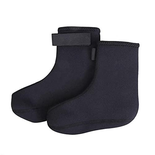 Cozy69 Calcetines de buceo, 3 mm de neopreno para traje de neopreno, mantiene el calor, antideslizantes y arañazos, calcetines de buceo flexibles