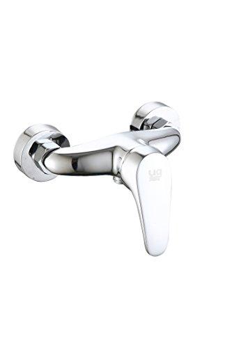 DP Grifería - Grifo monomando de ducha serie Limonero color plateado