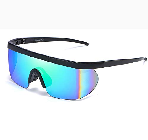 ZTXYJ gepolariseerde sportzonnebril, 100% uv-bescherming, sportbril, paardrijden, buiten, winddichte brillen, fietsen, vissen, hardlopen, motor, softbal, tennis, golf, outdoor-activiteiten