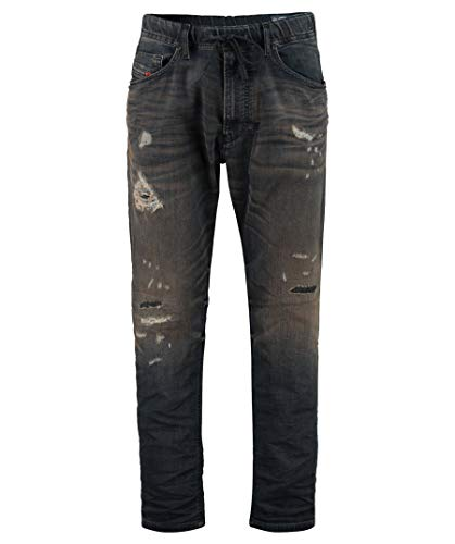 Diesel Herren Jeans NARROT-NE 687A Tapered Fit darkblue (83) 30