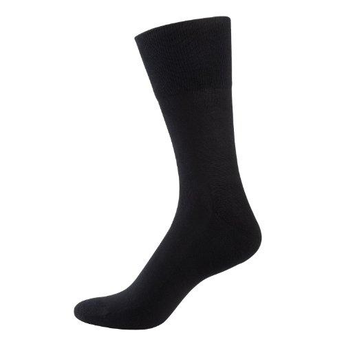 Nur Der Herren Aktiv Socken, Schwarz (schwarz), 43/46 (43-46)
