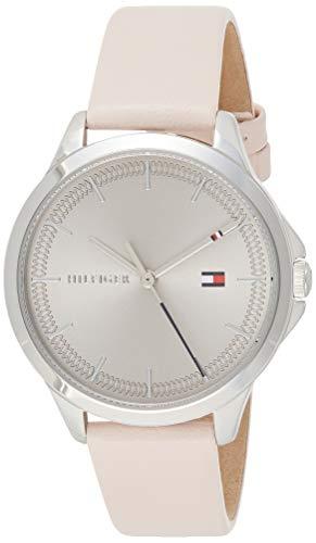 Tommy Hilfiger Reloj Analógico para Mujer de Cuarzo con Correa en Cuero 1782106