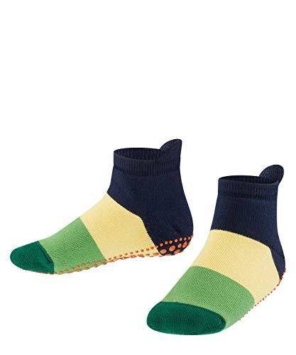 FALKE Unisex Kinder Colour Block Catspads K CP Socken, Opaque, blau (marine 6121), 35-38