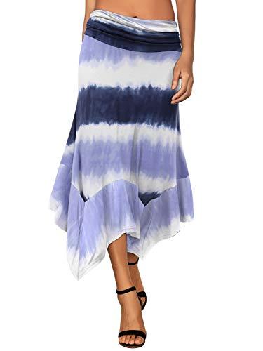 (40% OFF) Women's Flowy Handkerchief Hemline Skirt $17.99 – Coupon Code