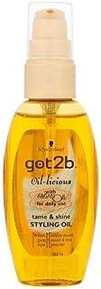 Schwarzkopf got2b Oil licious Styling Oil  With Argan Oil 50ml
